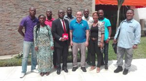 2017-1 Staff FIBAD après la séance de Travail
