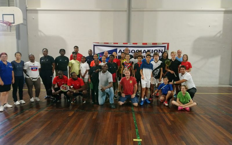 Stage badminton Guadeloupe