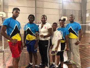 Sainte-Lucie Badminton